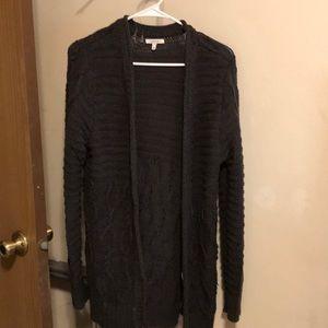 Long Gray Sweater